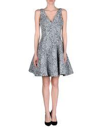 Opening Ceremony - Gray Short Dress - Lyst