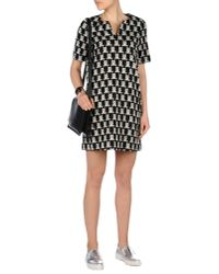 Paul & Joe - Black Short Dress - Lyst