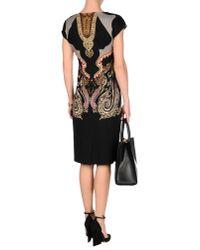 Etro - Black Short Dress - Lyst
