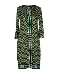 Diane von Furstenberg | Green Short Dress | Lyst
