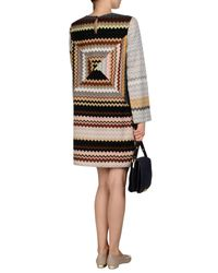 Missoni | Gray Short Dress | Lyst