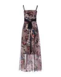 Rinascimento - Natural Long Dress - Lyst