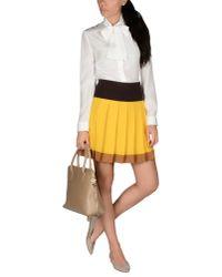 Prada - White Short Dress - Lyst
