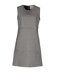 Erika Cavallini Semi Couture - Black Short Dresses - Lyst