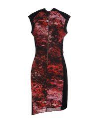 Helmut Lang - Red Short Dress - Lyst