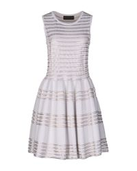 Antonino Valenti - White Short Dress - Lyst