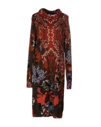 Etro - Brown Knee-length Dress - Lyst