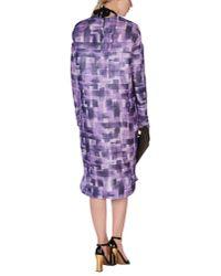Marni - Purple Knee-length Dress - Lyst
