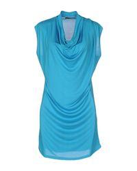 Snobby Sheep   Blue Short Dress   Lyst
