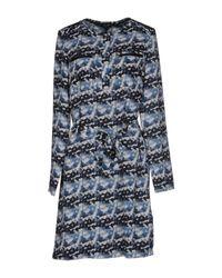 Armani Jeans | Blue Short Dress | Lyst