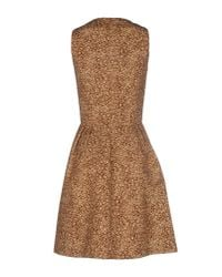 Michael Kors - Multicolor Short Dress - Lyst
