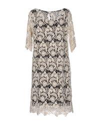 Liis Japan - White Knee-length Dress - Lyst