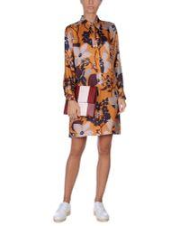 See By Chloé | Orange Short Dress | Lyst