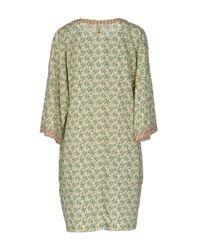 Nolita - Green Short Dress - Lyst