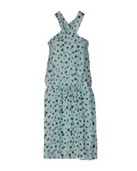 Vanessa Bruno - Blue Knee-length Dress - Lyst