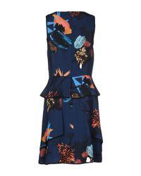 Proenza Schouler - Blue Short Dress - Lyst