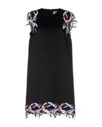 Christopher Kane | Black Short Dress | Lyst