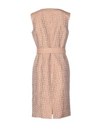 Cinzia Rocca - Pink Knee-length Dress - Lyst