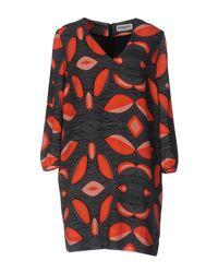 Essentiel Antwerp | Gray Short Dress | Lyst