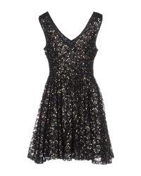 Darling - Black Short Dress - Lyst