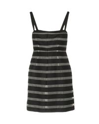 Pennyblack - Gray Short Dress - Lyst