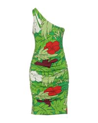 Boutique Moschino - Green Knee-length Dress - Lyst
