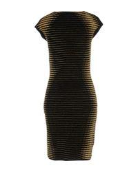 Philipp Plein - Black Short Dress - Lyst