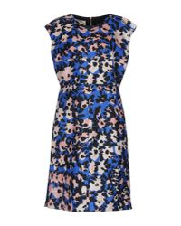 Marni - Blue Knee-length Dress - Lyst