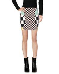Love Moschino | White Mini Skirt | Lyst