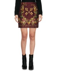 Dolce & Gabbana | Multicolor Mini Skirt | Lyst
