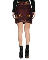 Dolce & Gabbana - Multicolor Mini Skirt - Lyst