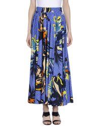Pinko | Blue Long Skirt | Lyst