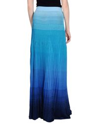 Missoni | Blue Long Skirt | Lyst