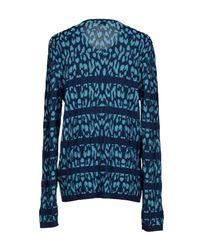 Just Cavalli - Blue Sweater for Men - Lyst