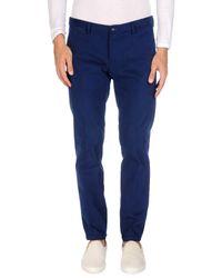 Roberto Pepe - Blue Casual Pants for Men - Lyst