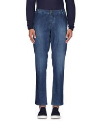 Alessandro Dell'acqua | Blue Denim Trousers for Men | Lyst