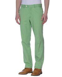 Hackett | Green Casual Pants for Men | Lyst