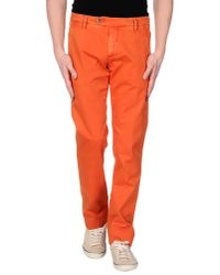 Roy Rogers | Orange Casual Trouser for Men | Lyst
