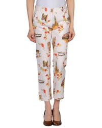 Barena - White Casual Trouser - Lyst