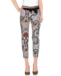 Just Cavalli - White Casual Pants - Lyst