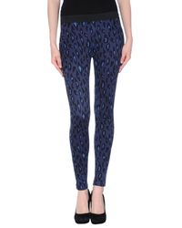 Pf Paola Frani   Blue Casual Trouser   Lyst