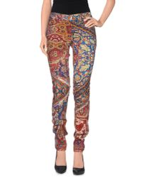 Just Cavalli - Red Casual Pants - Lyst