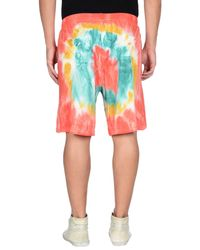 DSquared² - Red Bermuda Shorts for Men - Lyst