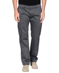 Gianfranco Ferré - Gray Casual Pants for Men - Lyst