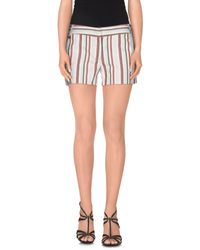 Manila Grace - Multicolor Shorts - Lyst