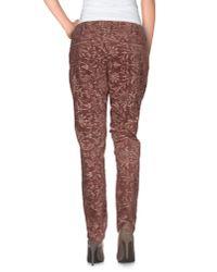 TRUE NYC - Multicolor Casual Pants - Lyst