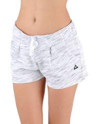 Le Coq Sportif - White Shorts - Lyst