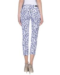 X-cape - White Casual Pants - Lyst