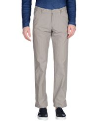 DRYKORN - Gray Casual Pants for Men - Lyst