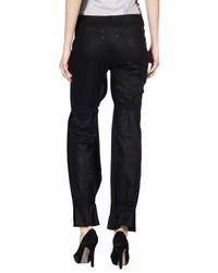 Maison Margiela | Black Pleated Trousers | Lyst